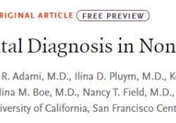"NEJM:<font color=""red"">外显</font><font color=""red"">子</font>组测序用于<font color=""red"">非</font>免疫性胎儿水肿的产前诊断"