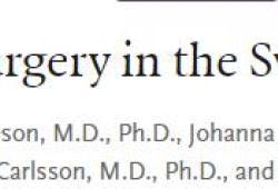 NEJM:减肥手术对肥胖人群预期寿命的影响