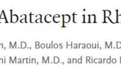 NEJM:Upadacitinib治疗生物药难治性类风湿关节炎