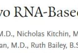 NEJM:核苷修飾RNA候選疫苗BNT162b1,BNT162b2用于新冠肺炎的預防