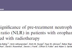 Br J Cancer:放疗前中性粒细胞淋巴细胞比值(NLR):口咽癌患者的预后指标