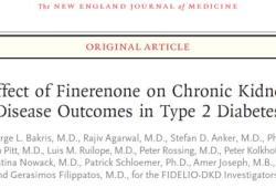 Finerenone顯著減少患有慢性腎臟病和2型糖尿病成人患者的腎臟和心血管事件