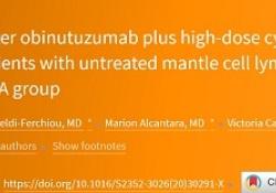 "Lancet Haematol:CD20单抗Obinutuzumab联合DHAP治疗<font color=""red"">套</font><font color=""red"">细胞</font><font color=""red"">淋巴</font><font color=""red"">瘤</font>的疗效"
