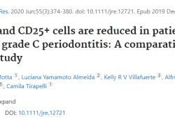 J Periodontal Res:Tregs参与了牙周炎的骨免疫学机制,有利于临床治疗决策的制定