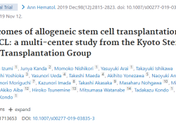 """Ann Hematol:异基因<font color=""""red"""">干细胞</font>移植可有效治疗DLBCL"""