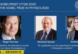 "2020年<font color=""red"">诺贝尔</font>物理学奖揭晓,黑洞相关三名科学家获奖"