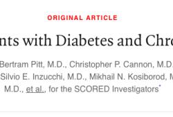 NEJM:索格列净在糖尿病和慢性肾病患者中的作用