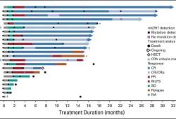 J Clin Oncol:依维替尼联合阿扎胞苷治疗新确诊的急性髓系白血病