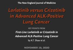 """NEJM:""""头对头""""III期研究证实治疗ALK阳性非小细胞肺癌,劳拉替尼显著优于克唑替尼"""