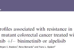 Br J Cancer:BRAF V600E突变型结直肠癌患者的耐药性相关研究