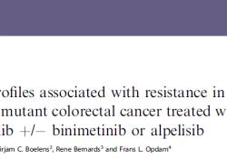 """Br J Cancer:BRAF V600<font color=""""red"""">E</font>突变型结直肠癌患者的耐药性相关研究"""