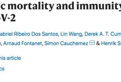 NATURE:新冠的年龄特异性死亡和免疫模式