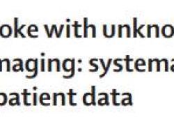 """Lancet:阿替普酶对中风时间不明患者<font color=""""red"""">的</font>疗效<font color=""""red"""">及</font>安全<font color=""""red"""">性</font><font color=""""red"""">研究</font>"""