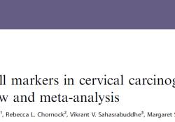 """Br J Cancer:系统<font color=""""red"""">性</font>评估和荟萃分析揭示<font color=""""red"""">浸润</font><font color=""""red"""">性</font>T细胞标志物在宫颈癌发生中的作用"""