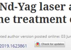 "J Dermatolog Treat:长脉冲Nd-Yag<font color=""red"">激光</font>与伊曲康唑联合<font color=""red"">治疗</font>甲癣的临床效果最佳,患者满意度高"