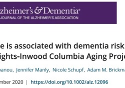 """Alzheimer's Dementia  