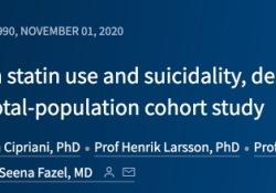 "Lancet Psychiatry | 100万人的研究发现,他汀药物使用与自杀、焦虑症或<font color=""red"">癫痫</font><font color=""red"">发作</font>无关"