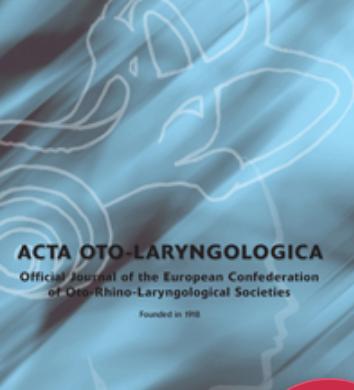 ACTA OTO-LARYNGOL