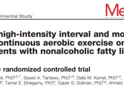 "Medicine (Baltimore):有氧运动可降低<font color=""red"">NAFLD</font>糖尿病肥胖患者的IHGT和内脏脂肪"