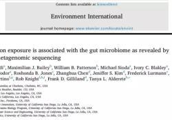 "<font color=""red"">Environment</font> International:科学新发现!揭秘空气污染物暴露影响肥胖等的背后机制:肠道微生物组是关键!"