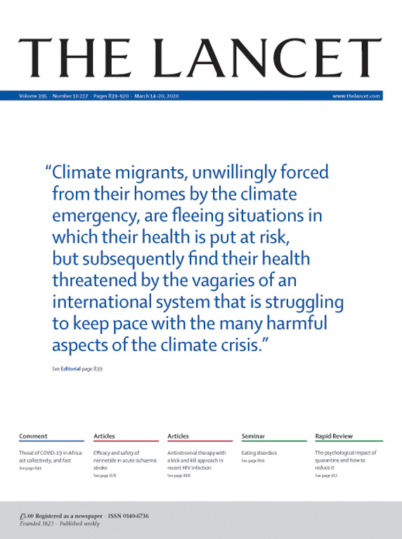 【盘点】2020年3月28日Lancet研究精选