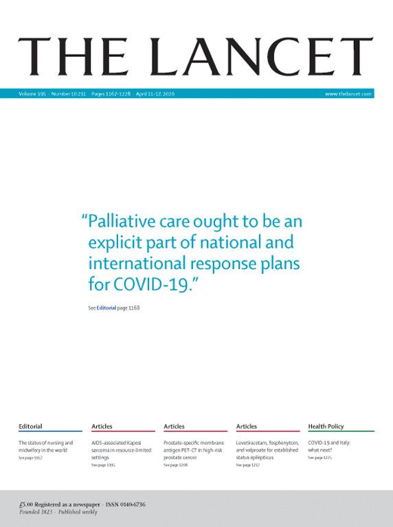 【盘点】2020年4月11日Lancet研究精选