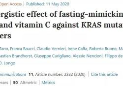 Nat Commun:研究证实,禁食+维生素C+化疗的三联疗法对难治疗的癌症有效