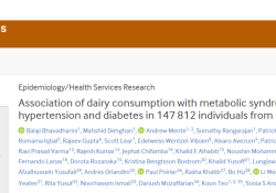 BMJ:乳制品这么有用?每天两份就可大大降低患糖尿病、高血压的风险
