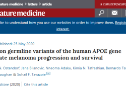 "Nat Med:首个证据表明遗传基因影响<font color=""red"">癌症</font>转移"