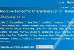 Cell:重大進展,中國科學家首次揭示肺腺癌蛋白質組完整圖譜