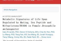 """J Gerontology:堕胎药竟可延长果蝇的寿命,人类有望""""长生不老""""了!"""
