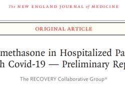 NEJM:正式發表!大規模隨機對照試驗,廉價藥地塞米松可以降低新冠患者(有創通氣)30%以上的死亡率