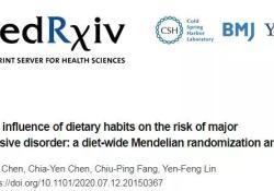 medRxiv:中国台湾研究表明,多吃牛肉和含谷类食物可缓解重度抑郁症
