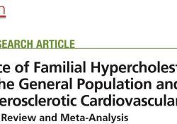 "Circulation:家族性高<font color=""red"">胆固醇</font>血症(FH)的全球发病率"
