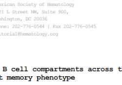 "<font color=""red"">Blood</font>:新亚型——组织常驻型记忆B细胞"