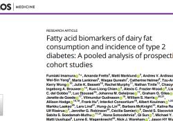 高脂牛奶大胆喝!乳制品(≥3份/天)对糖尿病患者的血糖、体重无影响