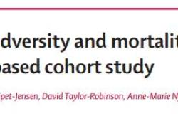 Lancet:童年不良經歷增加成年后早亡風險