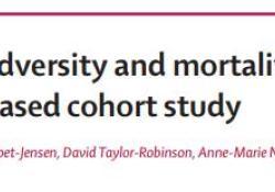 "Lancet:<font color=""red"">童年</font>不良经历增加成年后早亡风险"