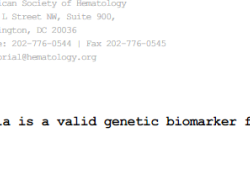 "Blood:<font color=""red"">遗传</font>性α-胰蛋白酶血症是肥大细胞增多症的有效<font color=""red"">遗传</font>生物标志物"