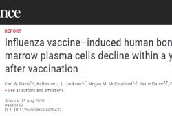 Science:为什么我们不能指望流感疫苗提供长期保护?