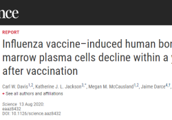 "Science:为什么我们不能指望<font color=""red"">流感</font><font color=""red"">疫苗</font>提供长期保护?"