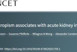 """Lancet:新冠病毒的嗜腎性是新冠肺炎患者急性腎損傷的""""罪魁禍首""""!"""
