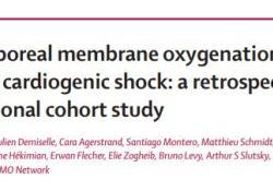 """<font color=""""red"""">Lancet</font>:ECMO用于脓毒症心源性休克患者的治疗"""
