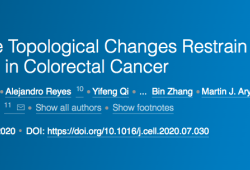 CELL:颠覆传统观念,染色质拓扑变化可抑制结直肠癌的恶性进展