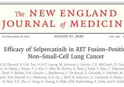 "NEJM:Selpercatinib用于RET融合阳性非<font color=""red"">小</font><font color=""red"">细胞</font><font color=""red"">肺癌</font>患者的治疗"
