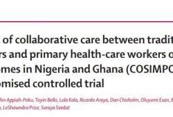 Lancet:神職人員與基層醫師共同治療撒哈拉以南非洲地區精神病患者