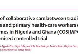 "Lancet:神职人员与基层医师共同治疗撒哈拉以南非洲地区<font color=""red"">精神</font><font color=""red"">病</font>患者"