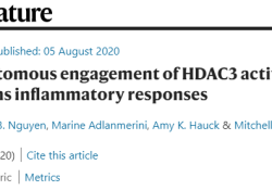 "【Nature】免疫""阴阳""谁调控?HDAC3蛋白是关键"