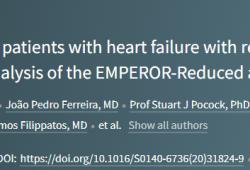Lancet:SGLT2抑制剂对射血分数降低的心衰患者各类预后的影响