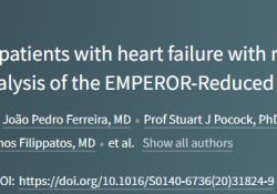 "Lancet:SGLT2抑制剂对<font color=""red"">射</font><font color=""red"">血</font><font color=""red"">分数</font>降低的<font color=""red"">心衰</font><font color=""red"">患者</font>各类预后的影响"